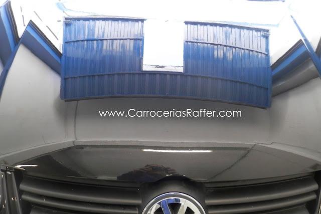 Carrocerias Raffer Volkswagen Golf MK5 Serie V pintado entero en HD Alta Definición
