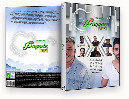 CAPA DVD – PAGODE BRASIL – ISO