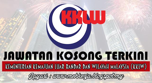 Jawatan Kosong Terkini 2016 di Kementerian Kemajuan Luar Bandar dan Wilayah Malaysia (KKLW)