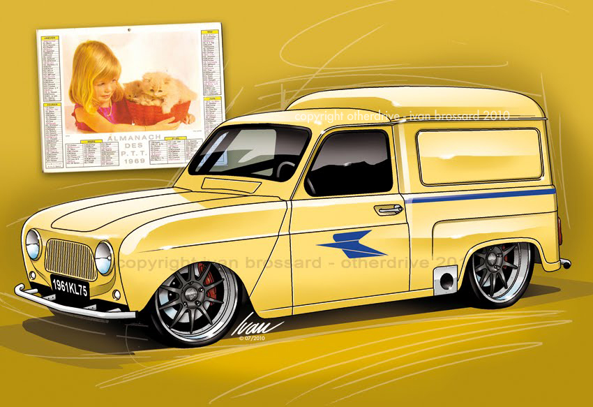 otherdrive  renault 4l la poste