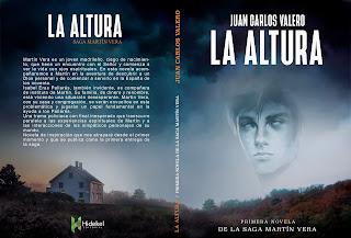 novela, Martín Vera, La Altura, Portada,
