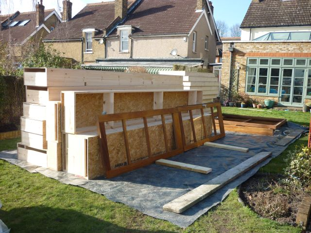 build a garden office insulated how to build garden office shedworking