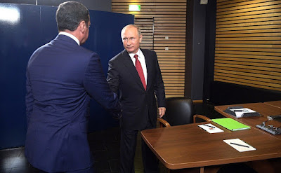 Vladimir Putin had a working meeting with Acting Governor of the Yaroslavl Region Dmitry Mironov.