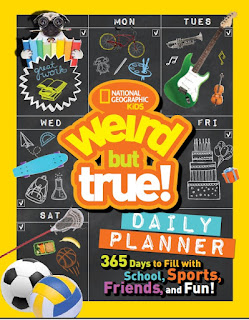 Weird but True! Daily Planner: 365 Days to Fill with School, Sports, Friends and Fun (Nat'l Geo Kids)