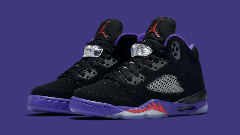 newest collection 1d9ac e02ca Air Jordan 5 in Raptors color theme | Analykix