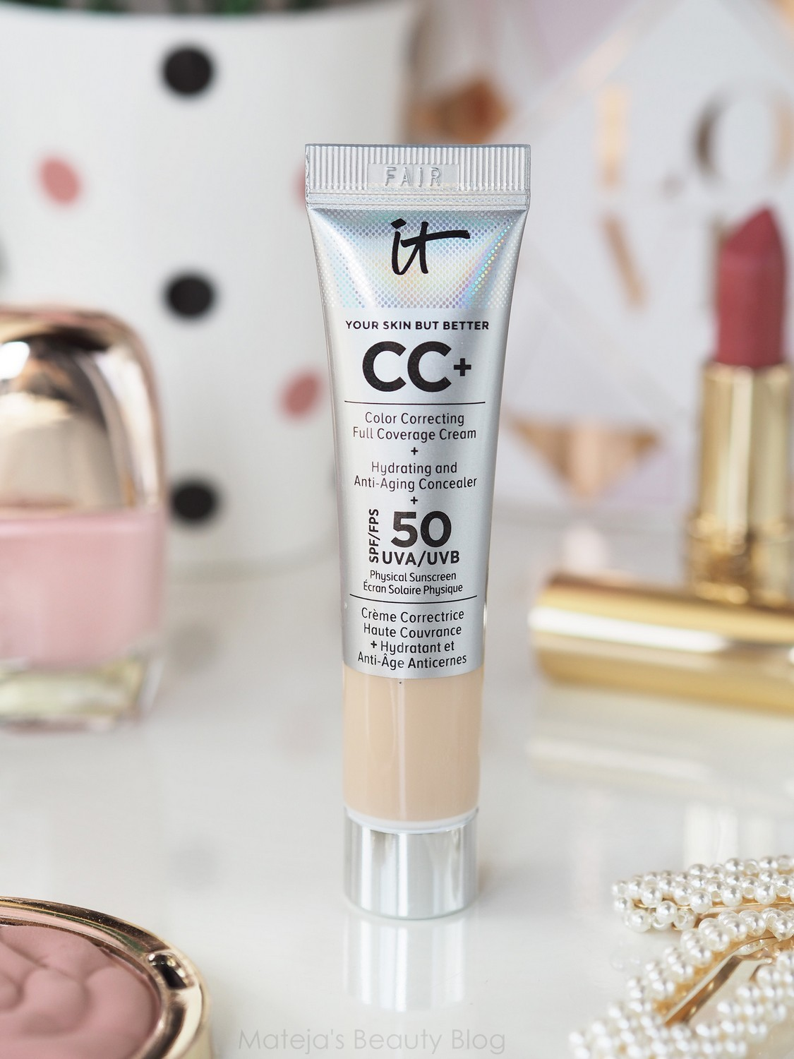 It Cosmetics Your Skin But Better Cc Cream With Spf 50 Fair Mateja S Beauty Blog