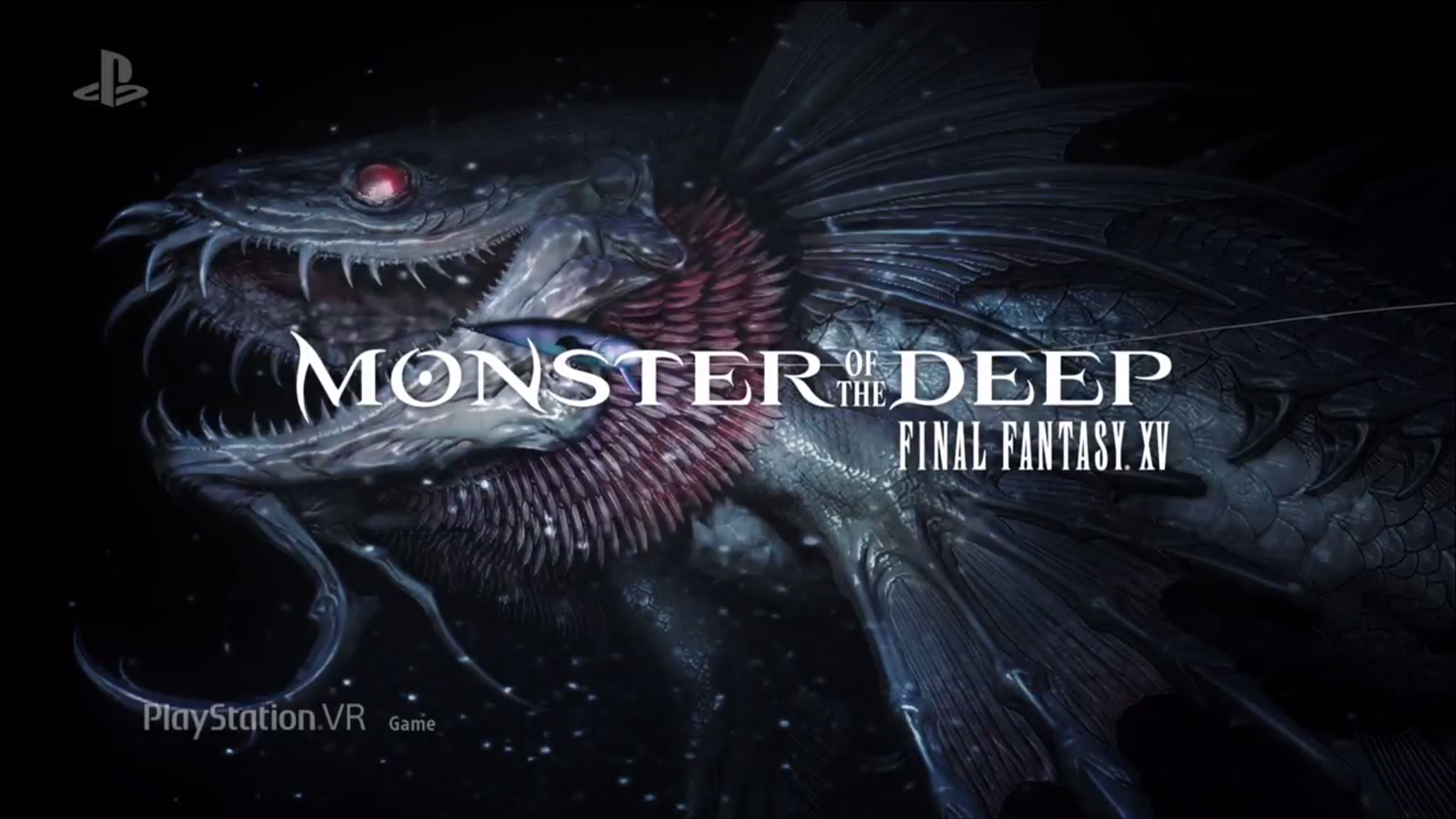 Monster Of The Deep FF XV Logo Wallpaper