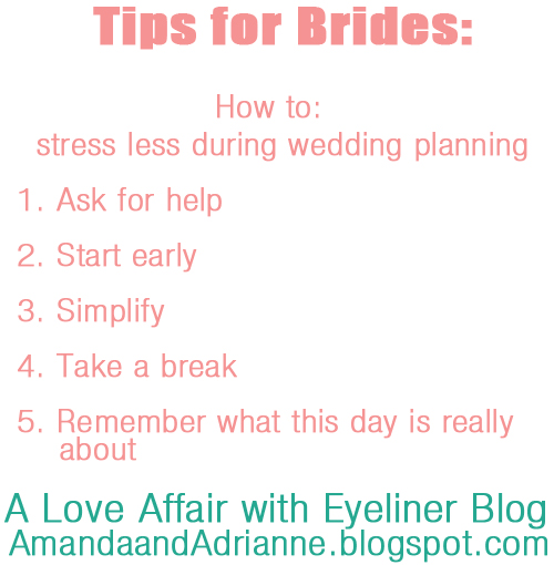A Love Affair With Eyeliner Tips For Brides How To Stay Stress