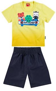 Como revender conjunto de moda infantil