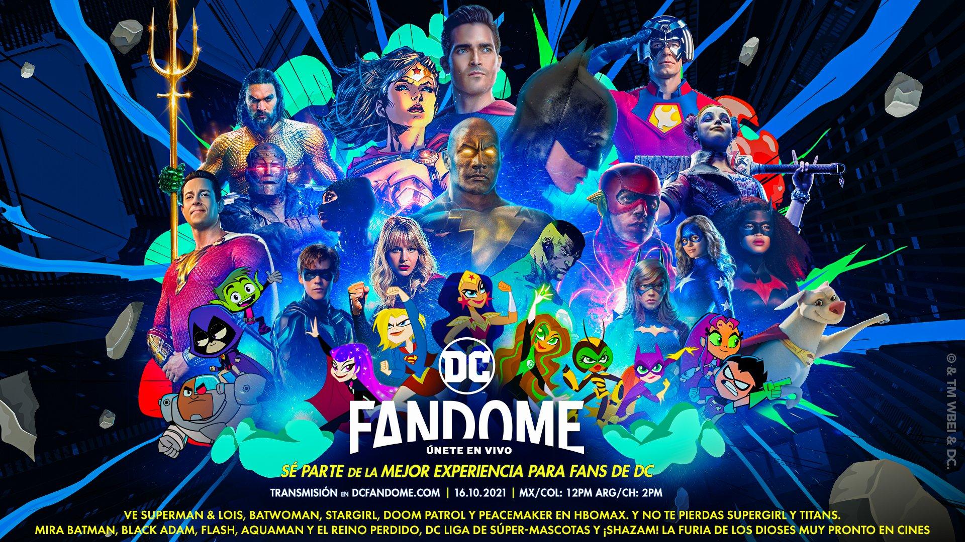 DC FanDome 2021: Estos son los paneles que serán presentados en el evento - TVLaint