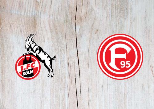 Köln vs Fortuna Dusseldorf -Highlights 24 May 2020
