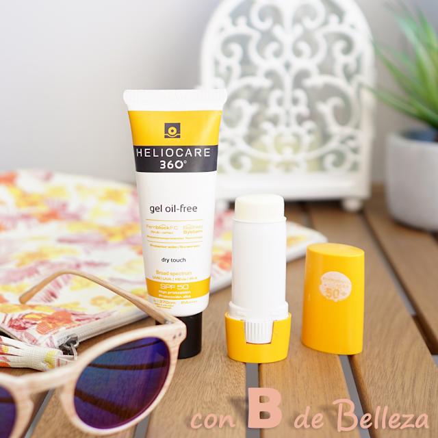 Protección solar para rostro