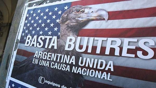 Nueva demanda a Argentina por impago de fondos buitres