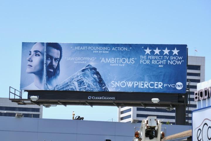 Snowpiercer 2020 Emmy FYC billboard