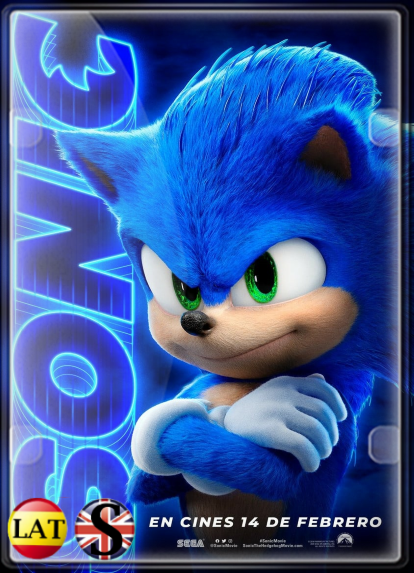 Sonic: La Película (2020) WEB-DL 1080P LATINO/INGLES