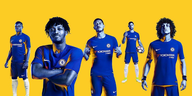 Chelsea F.C. Nike Kits 2017/18