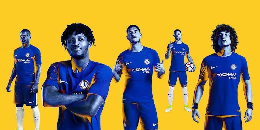 Chelsea F.C. Kits 2017/18 - Dream League Soccer