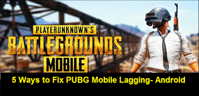 PUBG Mobile Lagging Fix