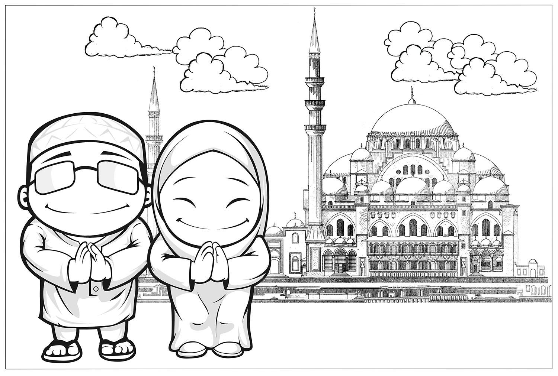 35 Terbaru Gambar Pemandangan Nuansa Islami Gambar Pemandangan