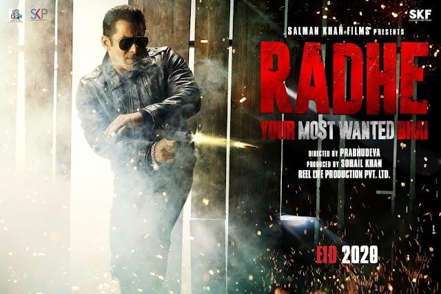 Radhe upcoming movie  Salman khan