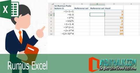 Membuat Formula atau Rumus di Excel (Belajar Formula Excel Part 1)