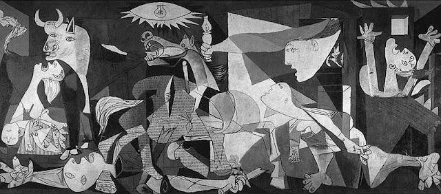 بيكاسو لوحة الـ ( جورنيكا
