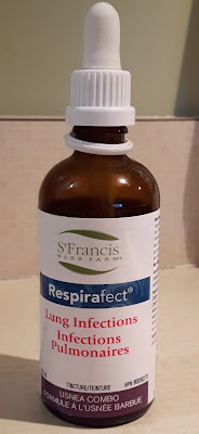 A natural homeopathic product for lung infections.