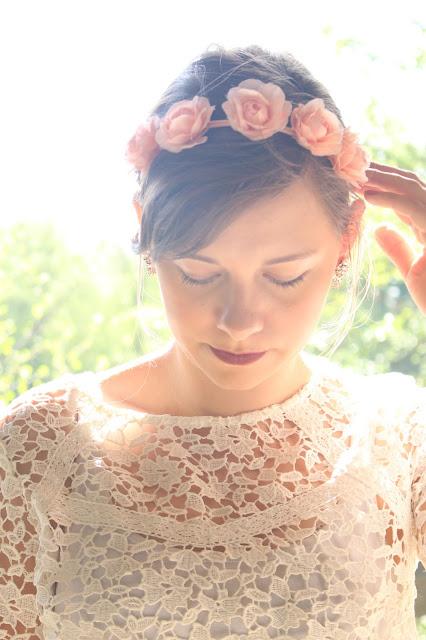 Romantique dentelle & headband