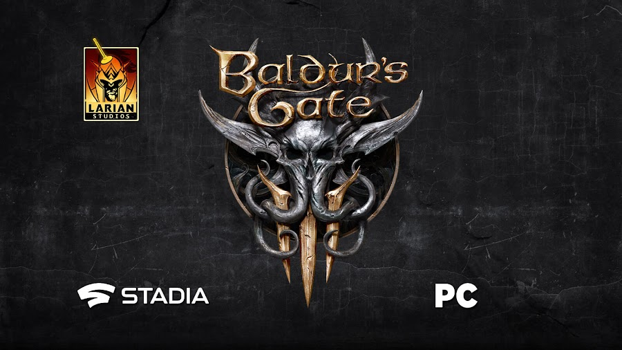 baldur's gate 3 the black hound announced pc google stadia larian studios