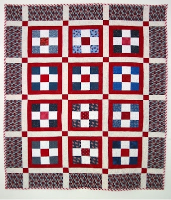 Quilt Inspiration: Free pattern day: Patriotic and flag quilts : fourth of july quilt pattern - Adamdwight.com