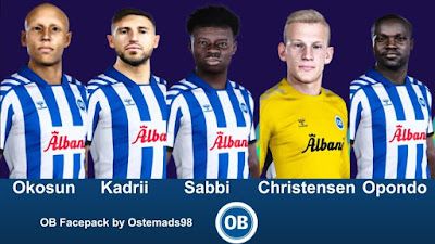 PES 2021 Facepack Odense Boldklub by Ostemads98