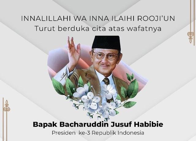 Redaksi Media GemaJakarta Turut Berduka Cita Atas Wafatnya Almarhum BJ Habibie