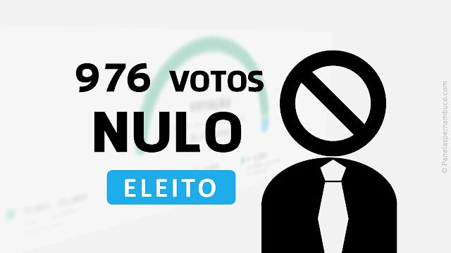 NULO SERIA ELEITO VEREADOR