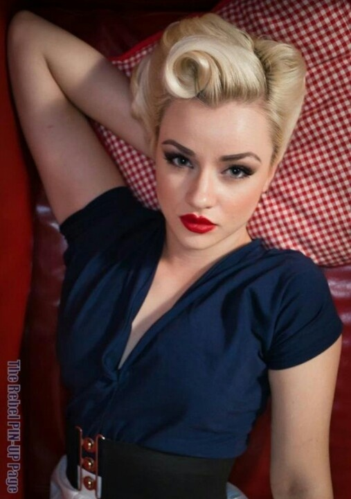pin up styles for hair 50s hairstyles 11 vintage hairstyles to look special 3685