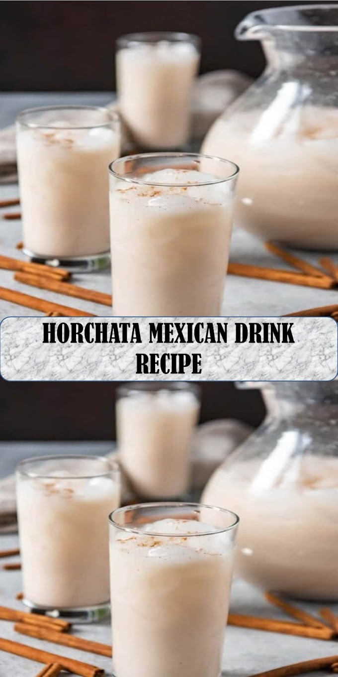 #YUMMY #HORCHATA #MEXICAN #DRINK #RECIPE
