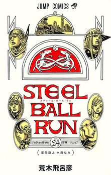 Steel Ball Run Manga