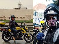 Update Perjalanan Biker yang Pergi Haji Naik Motor, Sudah Sampai Aceh
