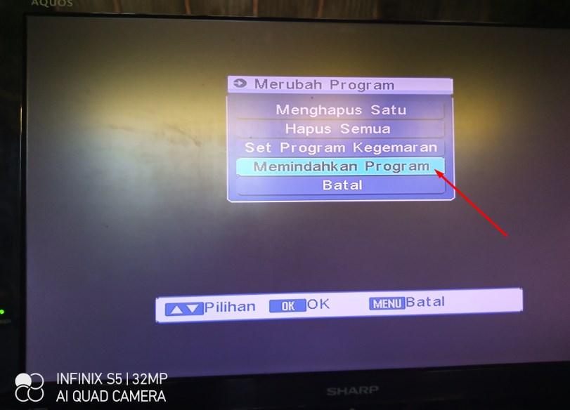 Cara Mengurutkan / Menyusun Channel Siaran TV Receiver Matrix Burger Lengkap dengan Gambar Update 09 Juli 2020