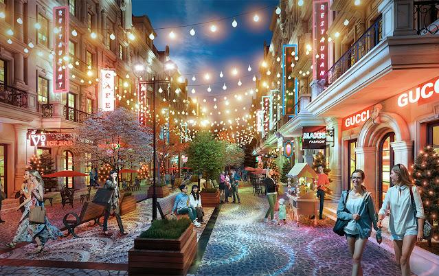 biệt thự Shopvillas dự án Sunshine Residence Helios Ciputra Hà Nội