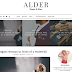 Alder Clean/Simple Blogger Template
