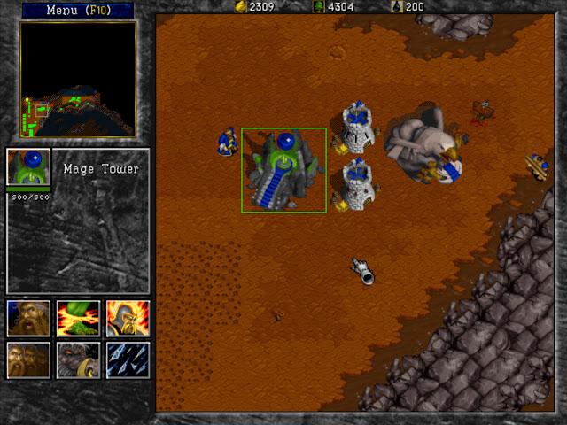 Warcraft 2 Mage Tower Screenshot