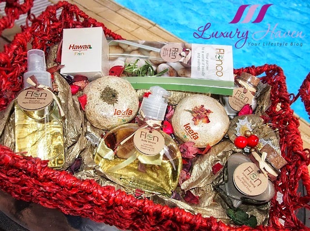flenco beauty products christmas hamper reviews