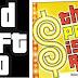 Origem da fonte do logo Grand Theft Auto