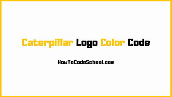 Caterpillar Logo Color Code