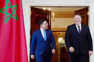 تأجيل الزيارة بومبيو للمغرب إلى يوم  الخميس 05 دجنبر