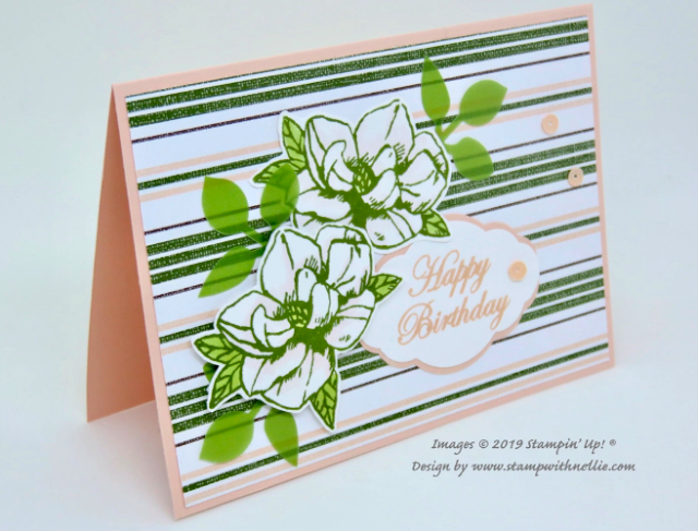Nigezza Creates With Stamp With Nellie Stampin Up Magnolia Lane