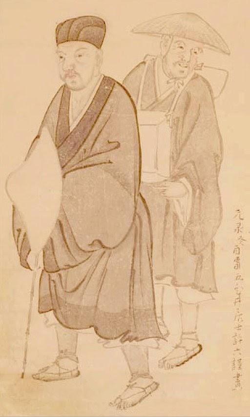 松尾芭蕉と曽良