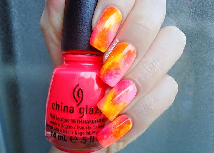 Summer neon gradient