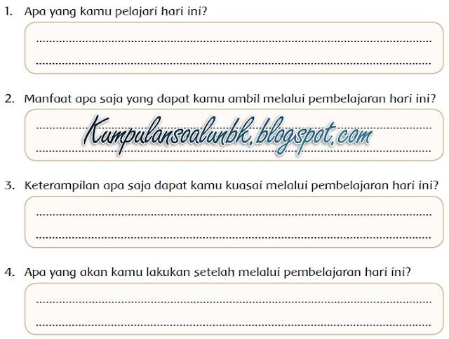 Kunci Jawaban Halaman 35 Buku Kelas 4 Tema 9