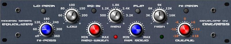 Modern Equalizer by Antress VST Plugin Download